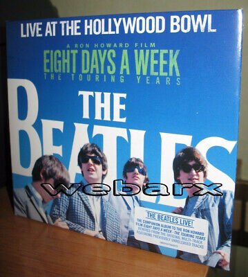 The Beatles Live At The Hollywood Bowl Cd Nuovo Sigillato Eight Days A Week