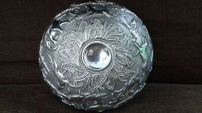 Very Rare Burmese solid silver Hunting Bowl Imported London Assay Office