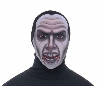 Disappearing Man Hooded Mask Adult: Vampire One Size