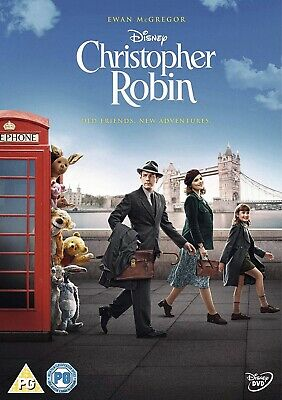 Christopher Robin DVD 2018 New and Sealed