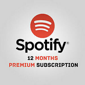 Spotify Premium | 12 MONTHS | Works WORLDWIDE | DELIVERY in 5min
