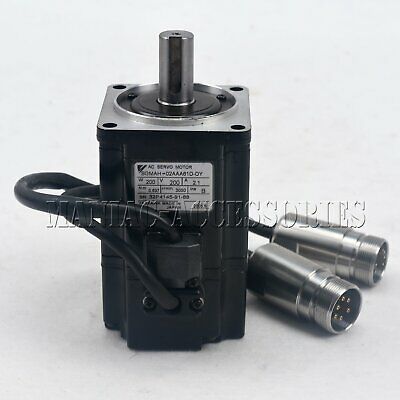 1PC Used Yaskawa servo motor SGMAH-02AAA61D-OY Tested In Good Condition