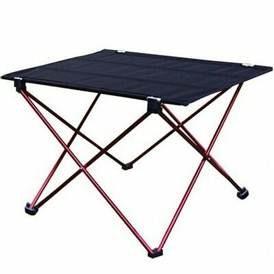 1pc Outdoor Folding Table Ultra-light Aluminum Alloy Structure Portable Camping