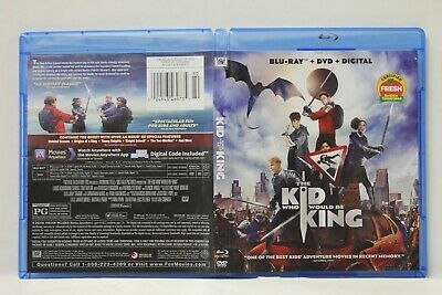 The Kid Who Would Be King (Blu-Ray,DVD) FREE Shipping Patrick Stewart No Digital