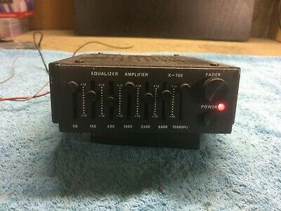 Vintage/Classic car equaliser amplifier X-700