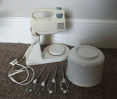 RETRO VINTAGE KENWOOD Mini Mixer Stand And Bowl. Food Processor . Working