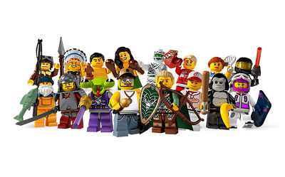 Lego Minifigures Serie 3 - 8083 - Figurines neuves au choix / New choose one