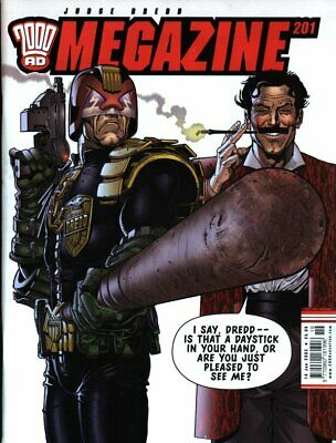 2000AD ft JUDGE DREDD - THE MEGAZINE - ISSUES 201 TO 359 - 2003/2015 (Megs Only)