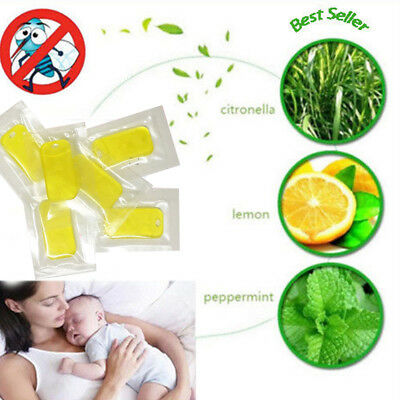 1/5/10X Natural Plant Insect Essential Oil Film Mosquito Repellent Tablet Refill