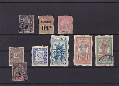 martinique mounted mint and used  stamps  ref r15233