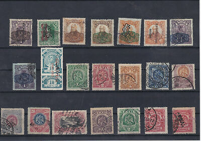 Mexico Early Used Stamps Lot Overprint Ref: R5732