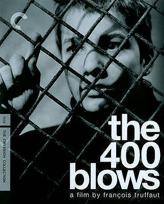 The 400 Blows (Blu-ray/DVD, 2014, 2-Disc Set, Criterion Collection)