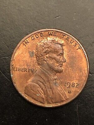 1982 D Lincoln Memorial Cent Small Date  - Circulated High Grade