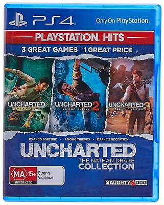Uncharted Collection PS4 Playstation 4 Brand New Sealed