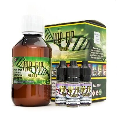 Base Vap Fip 20PG/80VG - 100ml, 200ml, 500ml, 1000ml Base para hacer eliquid DIY