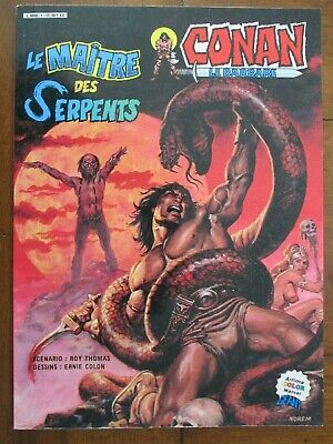Conan Le Maitre Des Serpents   Artima Color Marvel Geant 1984 Superbe Etat
