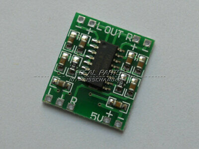 10 PCS PAM8403 2X3W Mini Audio Class D amplifier board 2 5