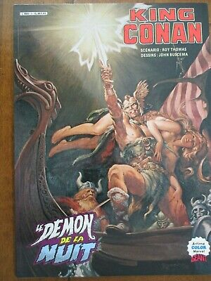 King Conan Le Demon De La Nuit  Artima Color Geant Marvel 1984 Superbe Etat
