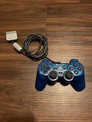 Original Playstation Official OEM Sony Controller Authentic Blue N1158