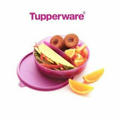 Tupperware Kids Divided Dish Lunch Box -color may vary