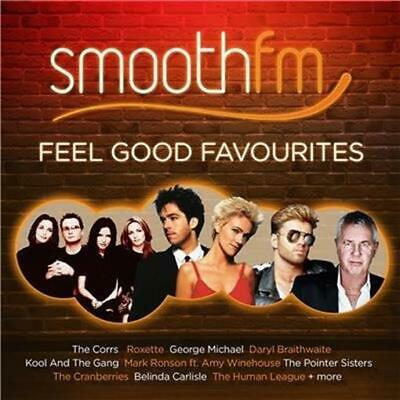SMOOTH FM Feel Good Favourites feat George Michael, Blondie, Corrs, Roxette 2CD