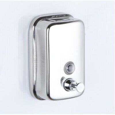 Wall Mount 500ML Stainless Steel Manual Wall-Mount Soap Dispenser Bottle LG