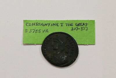 CONSTANTINE I, the Great, 307-337 AD SHARP DETAILS A97 #Z6570