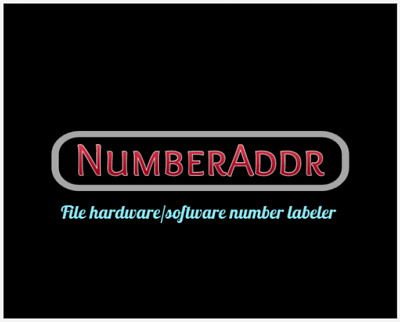 Numberaddr Ori/Tune File Name Re-Labeling Remap File Editing Software - V1.0.07