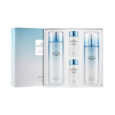 [MISSHA] Time Revolution White Cure Blanc Tone Up Special 2 Set - 1pack (4items)