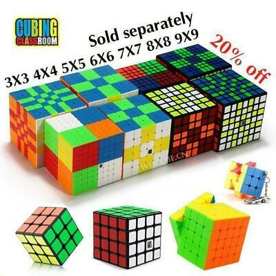 2019 Hot MFJS 3X3 4X4 5X5 6X6 7X7 8X8 9X9 Speed Magic Cube Twist Puzzle Toy Gift