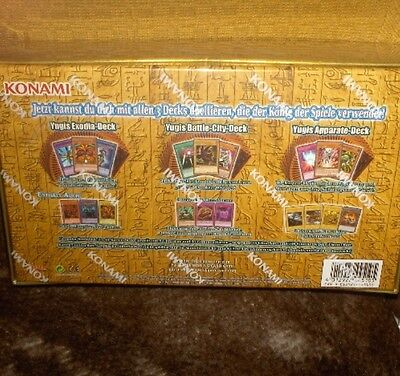 Yu-Gi-Oh - Yugi's Legendary Deck Box Set, in deutscher Sprache -Neu,OVP,Lizenz