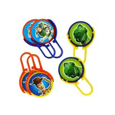 6 Disney Toy Story Children's Birthday Party Loot Toys Gift Favour Disc Shooters