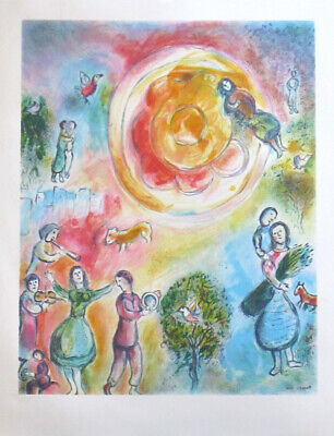 Chagall Marc Lithographie (D'apres)