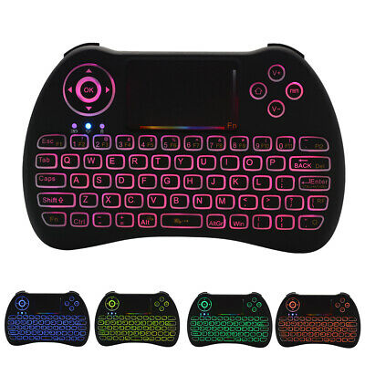 2.4Ghz Wireless Fly Air Keyboard Mouse Touchpad per Laptop TV BOX Xbox 360 AC786