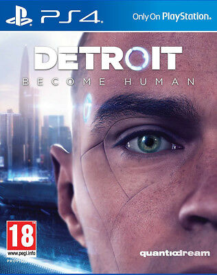 Detroit: Become Human (PS4) BRAND BUT UNSEALED - IN STOCK - QUICK DISPATCH