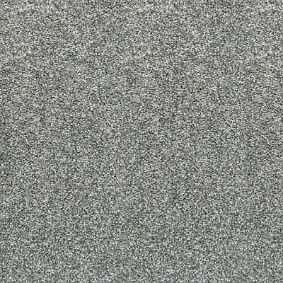 Bleach Cleanable Soft Saxony SILVER Grey Carpet Hessian Back FREE DELIVERY £8m²