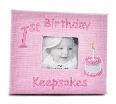 Baby Girl 1st birthday Keepsake Box (Pink)