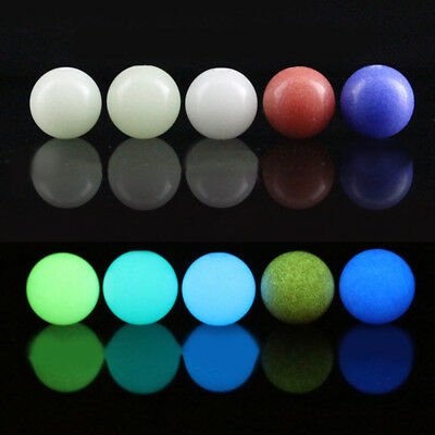 10PC Glow in the Dark Luminous Loose Stone Beads For Making Jewelry Bracelet DIY