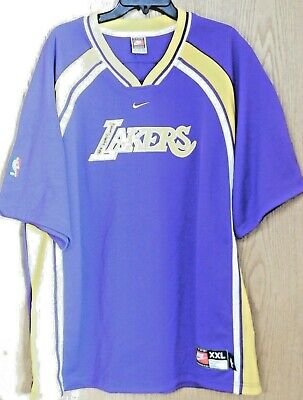 07fea892278 James Worthy Los Angeles Lakers Signed XXL Warm Up Sweater Jer JSA  Authenticated