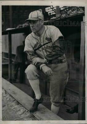 1939 Press Photo Ray Blades Manager St Louis Cardinals Spring Training Camp MLB