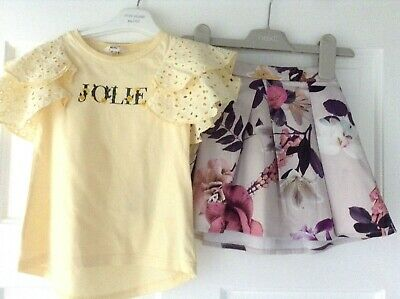 Next River Island Girls Small Pretty Spring Summer Bundle / Outfit 18-24Mths