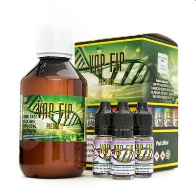 Base Vap Fip 40VG/60PG - 200ml - 500ml - Base neutra para hacer eliquid DIY