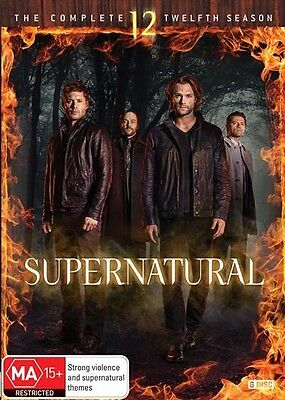 Supernatural : Season 12 : NEW DVD