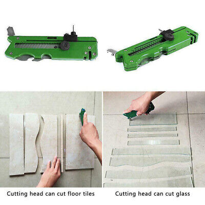 Practical Multifunction Foldable Glass Tile Cutter Blade Cutting Craft Hand Tool