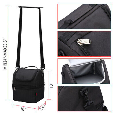 Insulated Lunch Bag For Women Men Kids Thermos Cooler Adults Tote Food Lunch Box