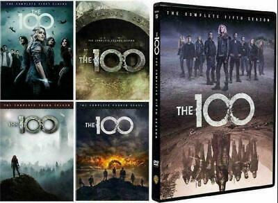 The 100: The Complete Series Seasons 1-5 (DVD, 2018, 17-Disc Set) NEW & SEALED!
