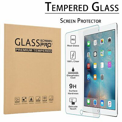 "HD Clear Tempered Glass Screen Protector For New iPad 6th Generation 9.7"" 2018US"