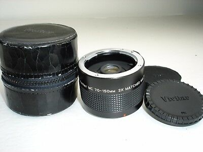 VIVITAR MC 70-150mm 2x Multiplier / Converter lens , PENTAX PK / K   mount