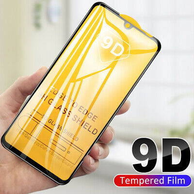 For Xiaomi Mi8 Lite Redmi 6 Note7 9D Curved Tempered Glass Screen Protector Film