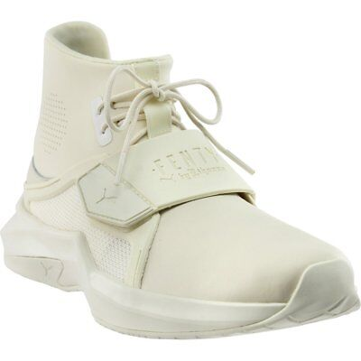 free shipping 5e044 3cc52 PUMA FENTY BY Rihanna The Trainer High Sneakers - White - Womens